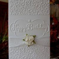 Embossing folders:Craft Concepts-  Budding Vine Folder Sizzix: 656504 Birthday Set #3 heartprints.net