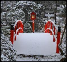 #japanese bridge in #winter…