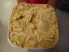 Plaster casting in sand: We used to do this once a year in elementary school. I still have one that my little sister made that I found in my dad's things when he died. Sand Casting, Metal Casting, Craft Activities For Kids, Crafts For Kids, Plaster Cast, Art Club, Art For Kids, 3 D, It Cast