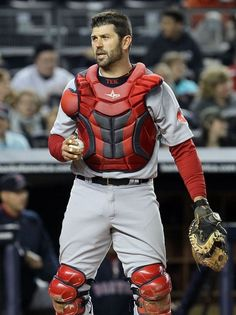 Jason Varitek - Red Sox vs Yankees. I need a pic of him from the back. It was always such a nice view.
