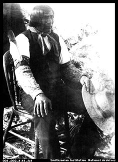 Wovoka, aka Jack Wilson, was a Paiute born in Nevada, in the late 1850s.  In 1889, Wovoka saw visions  that foretold the coming of a messiah who would help the Indians regain  their lost land & bring their dead ancestors back to life. Wovoka  directed his many followers to sing & dance in preparation for the  event.  The ritual, which included elements from the Christian religion,  was called the Ghost Dance.