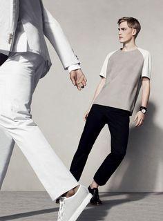 Hermès Spring Summer 2013. Photo: Jacob SUTTON. #hermes #menswear #fashion…