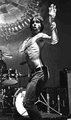 """Iggy Pop and The Stooges. """" And I'm the world's forgotten boy  The one who's searchin', searchin' to destroy"""""""