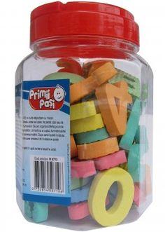 Set aplice baie 56 buc (30 litere + 26 numere) - se lipesc de faianta pentru invatarea alfabetului si a numerelor. Deodorant
