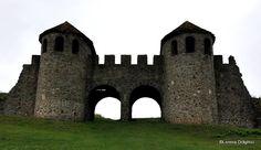 Castrul roman Porolissum, Porta Praetoria