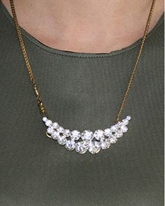To the Moon Necklace by JewelMint.com, $38