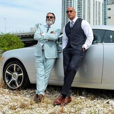This new season of #ballers has been a real master class in acting by going head to head with this man - Andy Garcia. Appreciate the work and certainly letting me sponge up all the Pacino DeNiro & Coppola perspective and stories. See you down the road brother.. ball out. #ballers #Season2 #HBO THIS JULY.  by therock