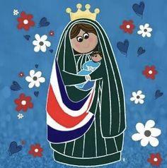 Costa Rica, Disney Characters, Fictional Characters, Aurora Sleeping Beauty, Faith, Disney Princess, Saints, Amor, Frases