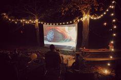 Toddler Talk: Backyard Movie Party