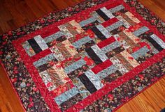 moda double chocolate quilt - Google Search