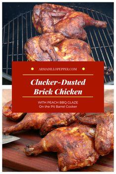 Clucker-Dusted Brick Chicken Recipe