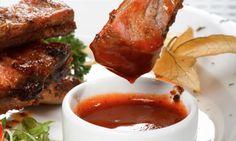 Salsa barbacoa. Ideal para acompañar las carnes a la brasa y a la parrilla.