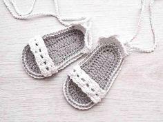 Crochê sandals
