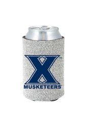 Xavier Musketeers Glitter Can Koozie