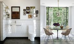 another eclectic bathroom