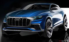 Audi Reveals 'Near-Production' Q8 Concept in Detroit