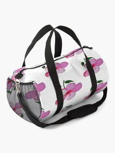 """""""Pink flower"""" Duffle Bag by artgame 