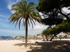 One of my first holidays abroad ; Menorca, Ibiza, Holiday Pictures, Holiday Ideas, Places To Travel, Places To Go, Santa Ponsa, Balearic Islands, Beach Scenes