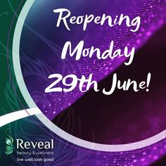 I am looking forward to welcoming you all back from Monday 29th June! 🦚🦚🦚🦚 📞☎️📱I will be available Tuesday - Friday this week 11am - 4pm on 05793 27923 📞☎️📱 to arrange a booking for you. Leave a voicemail if you cannot get through and I will respond as soon as possible. 🖥️🖱️💳 A high volume of appointments have been placed since the announcement on Friday - book with instant confirmation by clicking the link in the bio ⏫⏫⏫⏫ 24-7🤓  Thank you 😊  #revealbeautywellness… 29 June, Confirmation, Appointments, Announcement, Tuesday, Friday, Books, Instagram, Libros