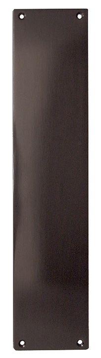 Door Furniture Direct Dark Bronze Push Plate 305x75mm Dark bronze push plate for fitting to a door edge. Overall measurements are 305x75mm. Screws included. http://www.MightGet.com/january-2017-12/door-furniture-direct-dark-bronze-push-plate-305x75mm.asp