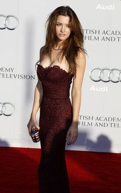 Talulah Riley was born on September 1985 in Hertfordshire, England. She is an actress and director, known for Pride & Prejudice Inception and St. Trinian's She was previously married to Elon Musk. Tallulah Riley, Strapless Dress Formal, Prom Dresses, Formal Dresses, Most Beautiful Women, Beautiful People, Hot Brunette, Celebs, Celebrities