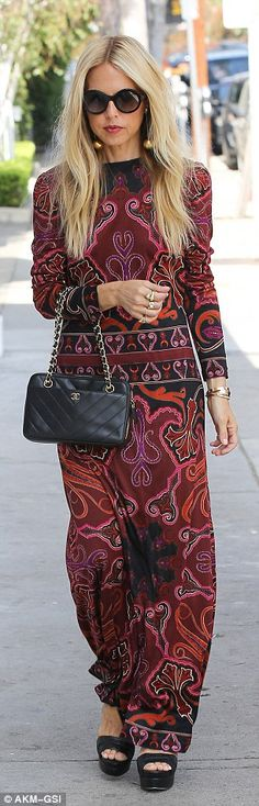Celebrity moms:Other celebrity guests included fashion designer Rachel Zoe and Grammy-win...