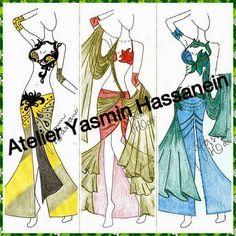 Atelier Yasmin Hassanein - Trajes para Dança do Ventre - Bellydance Costumes: News on Atelier Yasmin Hassanein