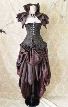 Privateer Pirate Corset Costume -Corset Only-For A 28-30 Inch Natural Waist-READY TO Ship