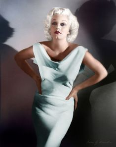 Jean Harlow (born Harlean Harlow Carpenter ; March 3, 1911 – June 7, 1937)