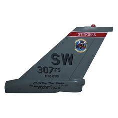 307 FS F-16C Tail Flash