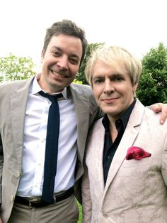 Jimmy Fallon + Nick Rhodes of Duran Duran = beautiful deliciousness