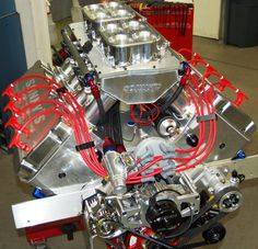 SONNY'S 805 CU. IN. HEMISPHERICAL HEADED PUMP GAS ENGINE (1350 HP) - Sonny's Racing Engines & Components