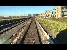 Metroen på Amager et uddrag i sol