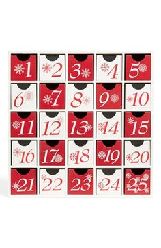 K & K Interiors Advent Box available at #Nordstrom