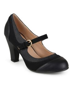 Another great find on #zulily! Black Siri Mary Jane Pump #zulilyfinds