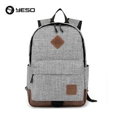 fa4dee89bc30 Unisex School Bags For Teenagers Waterproof Oxford 14 15.6 inch Laptop  Backpack Travel Backpacks For Girls