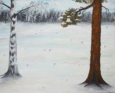 Silausta vailla: Tarina-joulukalenterien kierrätystä Snow, Outdoor, Outdoors, Outdoor Games, The Great Outdoors, Eyes, Let It Snow