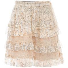 Diane Von Furstenberg Mathilda skirt ($174) ❤ liked on Polyvore