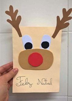 Postal de Natal criativo
