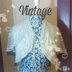 I just added this to my closet on Poshmark: Powder Blue Vintage Bed Jacket. Price: $20 Size: S