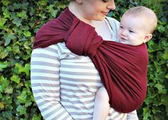 Eight tips to help you take full advantage of your ring sling. Make sure you and your child are as comfortable as possible.