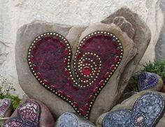 juwelen mosaik basteln anleitung mosaiksteine