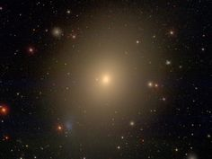 Messier 49 (also known as M 49 or NGC 4472) is an elliptical / lenticular galaxy about 49 million light-years away in the constellation Virgo. The galaxy was discovered by Charles Messier in 1771. Credit: David W. Hogg, Michael R. Blanton, and the Sloan Digital Sky Survey Collaboration. NYU at Princeton