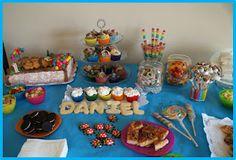 Cumpleaños de Daniel.  Cupcakes, galletas, tarta, chuches, dulce y salado... lo que haga falta!!