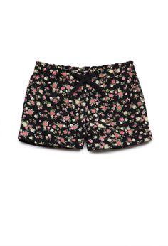 Floral Print Shorts (Kids) | FOREVER21  #F21Girls