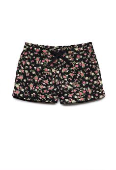 Floral Print Shorts (Kids) | FOREVER21  #F21Girls