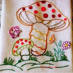 """Começando a série: """"variados"""" dos panos de copa que comprei em www.pontocheio.com.br"""