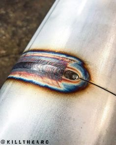 6 thin wall.. freehanded #weldporn #weldernation #welding #tigwelding #stainless