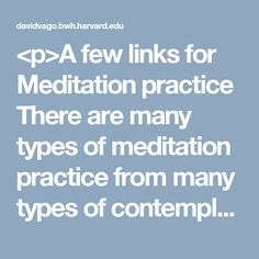 practice of insight meditation types uses and benefits There are many types of meditation  it is a practice buddhists call vipassana or insight meditation  the type of practice you decide to go with will determine.