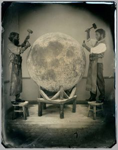 "Noah Doely. ""Noah Doely's ambrotype and tintype photographs are full fiction and illusion."""